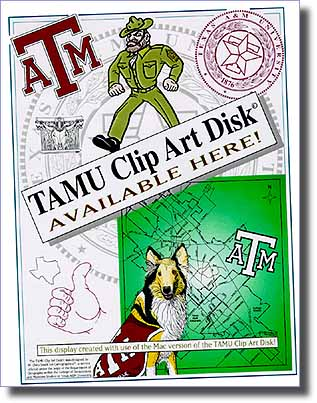 TAMU Clip Art Disk Available Here - tabletop display