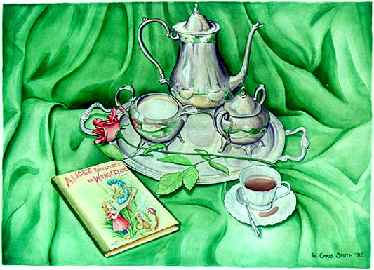 Tea With Alice by Chris Silver Smith, 1992